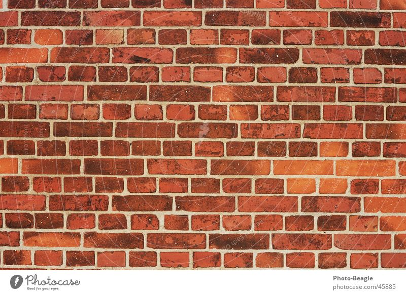 Bricks 1-4 Wall (barrier) Wall (building) Background picture Structures and shapes Stone wallpapers bricks red brick red-brick Brick wall
