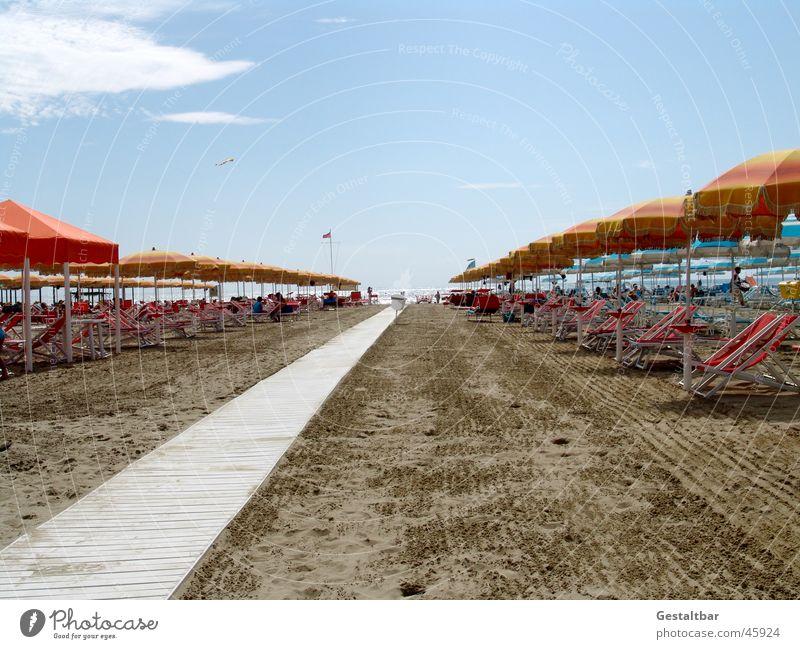 Sky Sun Ocean Summer Beach Vacation & Travel Sand Coast Italy Sunshade Formulated
