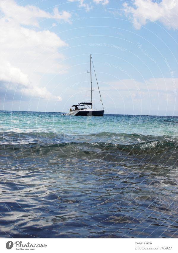 Water Sky Sun Ocean Blue Vacation & Travel Clouds Watercraft Cuba Sail