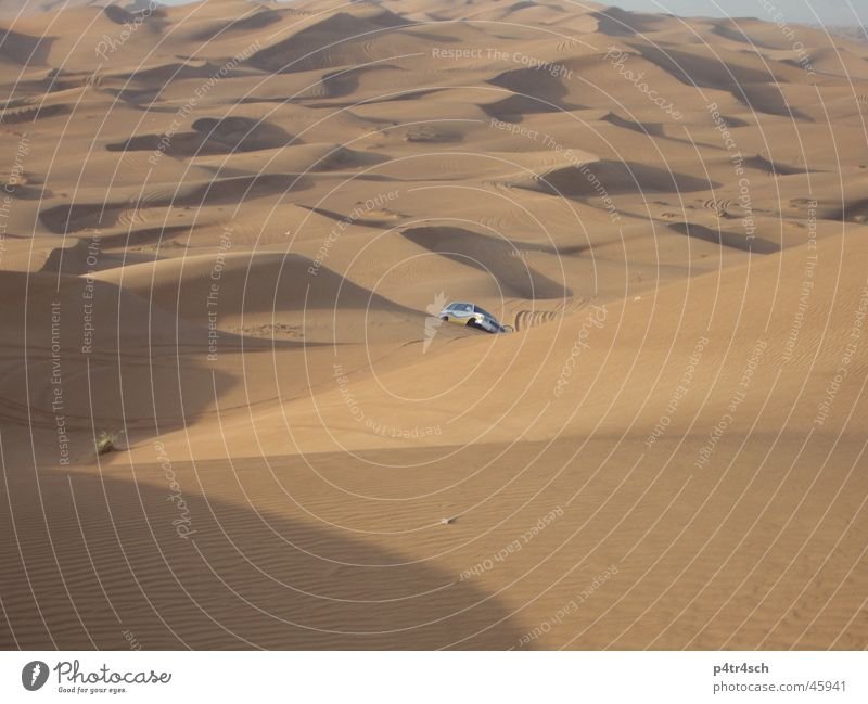 Sand Desert Dubai Offroad vehicle