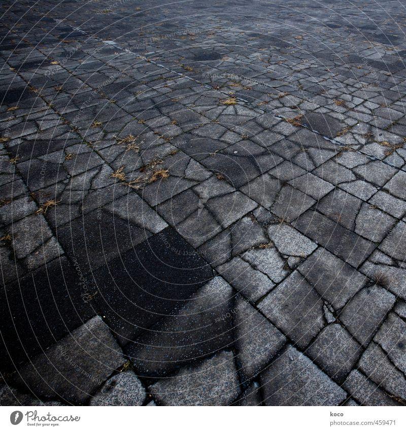 Old Loneliness Black Dark Autumn Death Lanes & trails Gray Stone Line Brown Earth Gloomy Concrete Threat Broken