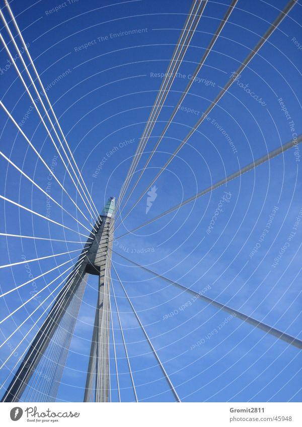 Sky Rope Bridge Steel Column Sweden Rod Bracket Car bridge Bridge pier