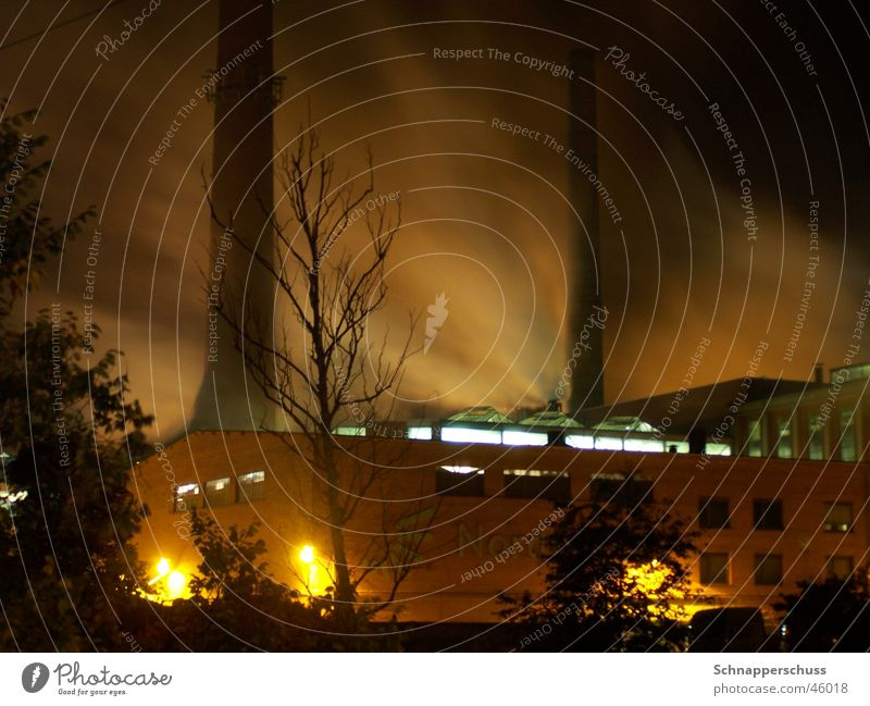 Dust in the Wind Long exposure Fog Gale Night Dark Industrial Photography Smoke Sepia