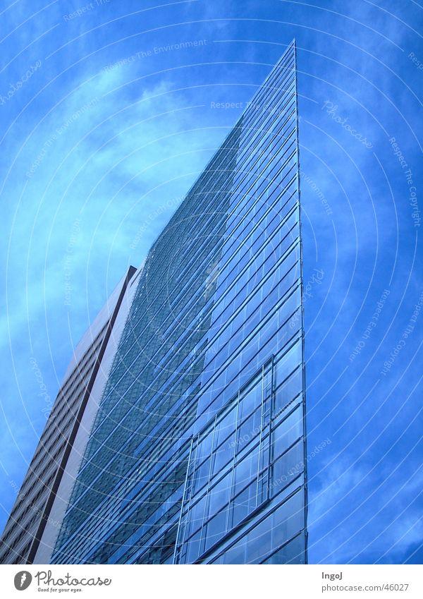 Glass sails House (Residential Structure) Potsdamer Platz Window Berlin Sail Architecture