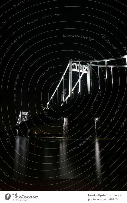 Water Dark Gray Car Bright Concrete Rope Transport River Steel Home country Rhine Krefeld Uerdingen