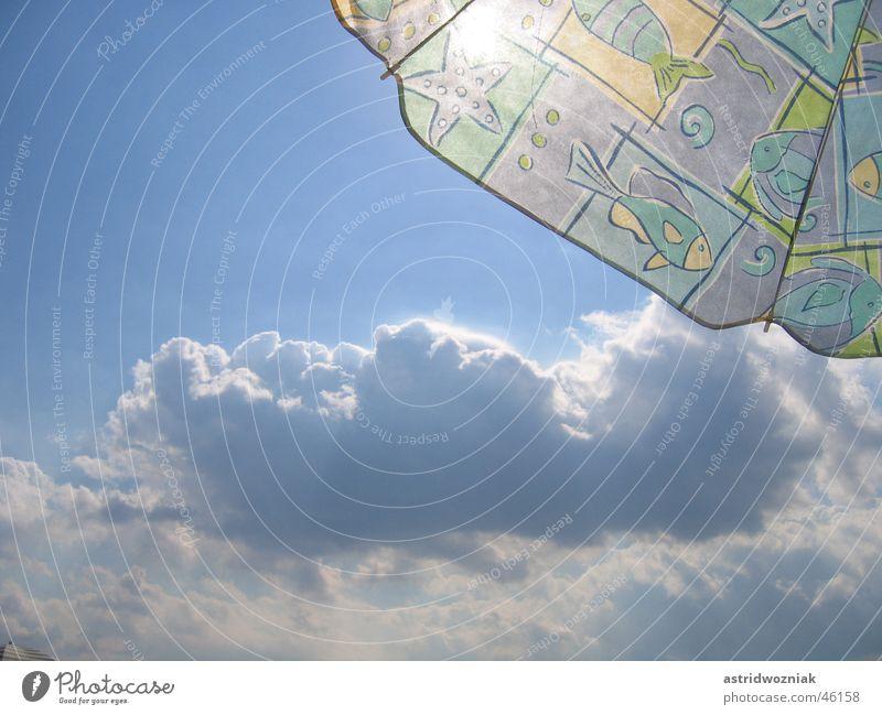 blue sky Summer Clouds Sunshade Vacation & Travel Sky Blue