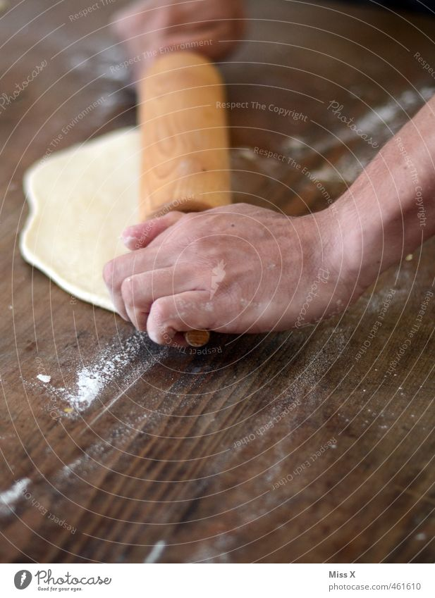Human being Christmas & Advent Hand Wood Food Fresh Fingers Nutrition Sweet Cooking & Baking Delicious Baked goods Dough Cookie Pizza Wooden table