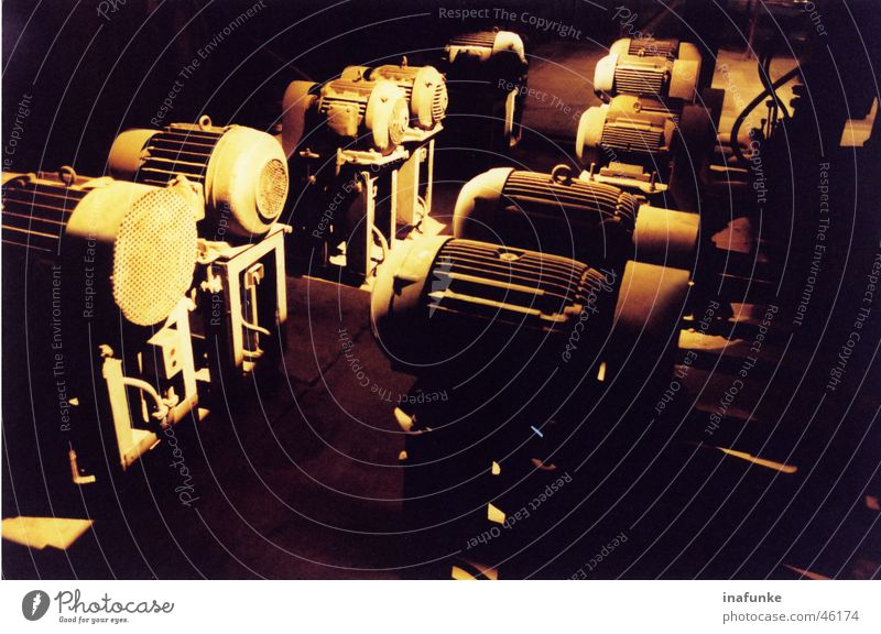 engine accumulation Engines Light Craft (trade) Industrial Photography Power