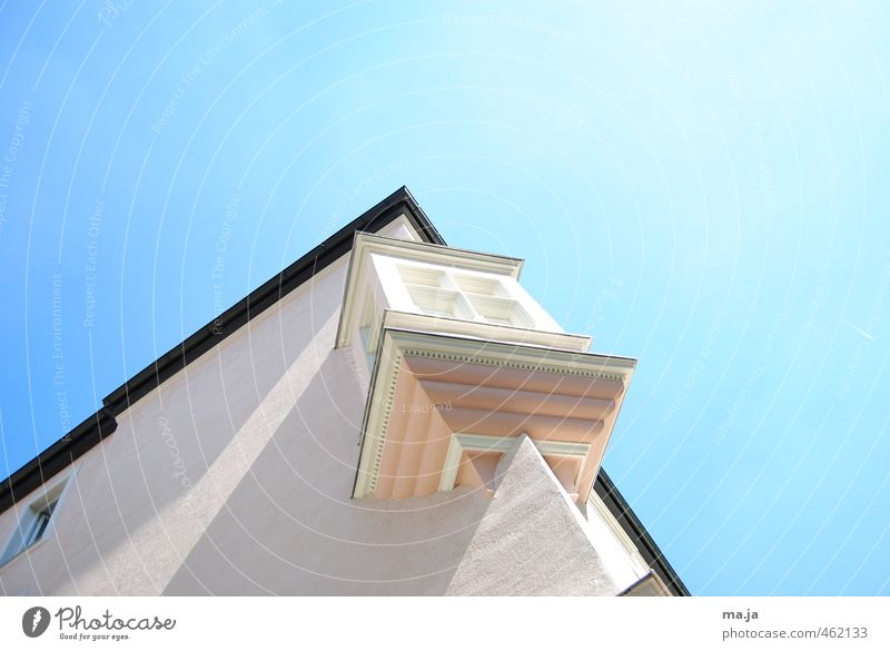 Blue City White House (Residential Structure) Wall (building) Wall (barrier) Architecture Pink Old town Oriel