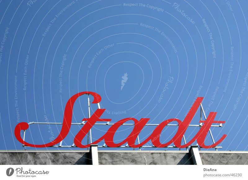 City (2) Town Letters (alphabet) Red Cologne Rhine letter Sky Blue Cologne-Deutz cursive Beautiful weather