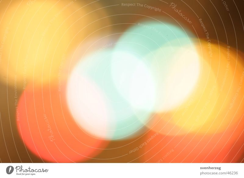 lights Background picture Red Green Yellow Blur Light Orange