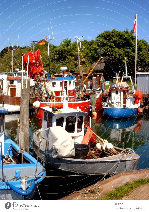 Colourful harbour Watercraft Ocean Navigation Harbour