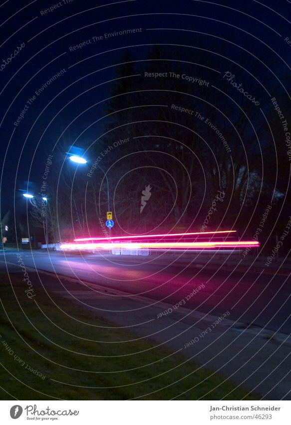 Street Lamp Dark Car Bright Speed Floodlight Invisible