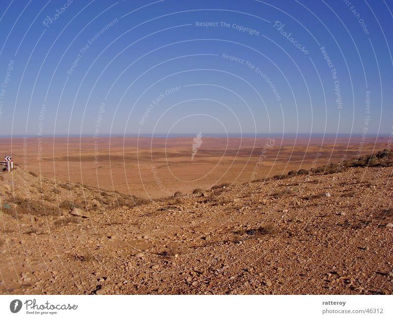 Sky Sand Earth Gloomy Desert