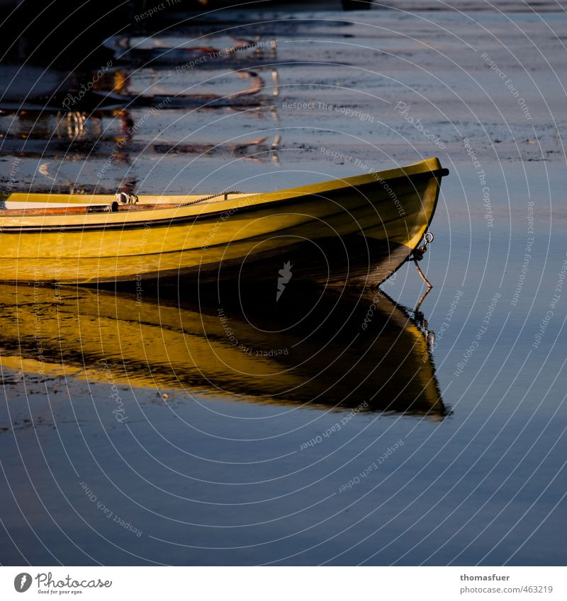 yellow submarine Summer Ocean Waves Aquatics Fishing (Angle) Fisherman Water Sun Beautiful weather Coast Baltic Sea Navigation Boating trip Fishing boat Dinghy