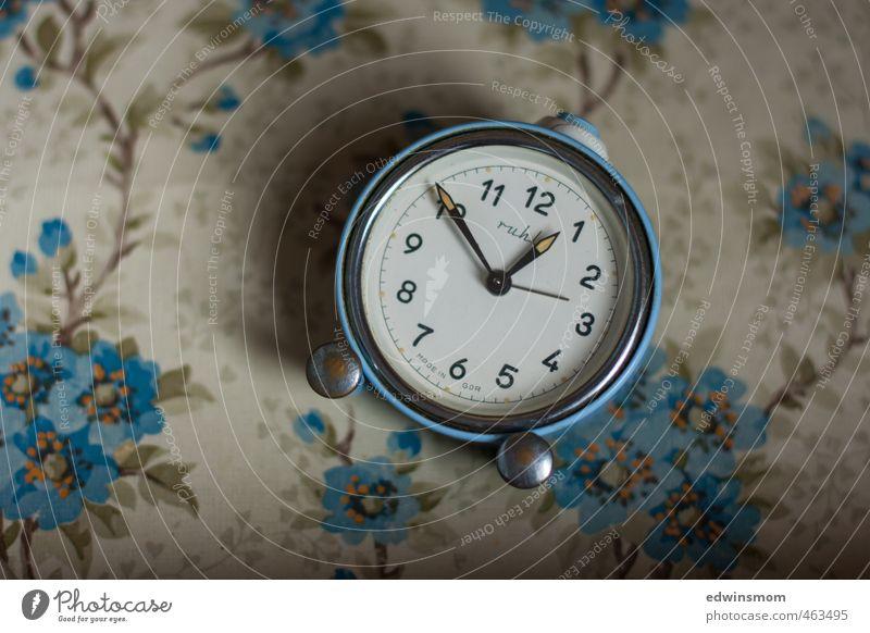 Nostalgia in love. Vintage. Interior design Bedroom Attic Clock Alarm clock Metal Digits and numbers Utilize Listening Study Looking Old Elegant Kitsch Small