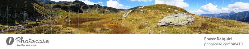 Sky Flower Clouds Mountain Meadow Large Alps Panorama (Format) Alpine pasture Kitzbühel Alps Federal State of Tyrol Plant Mount Kröndlhorn
