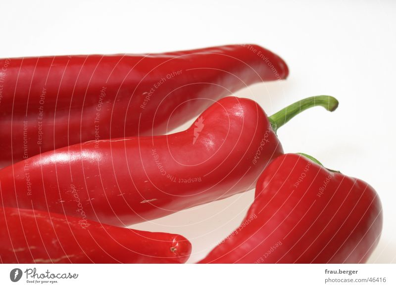 red like love... Pepper Together Style Glittering Vegetable red group Contrast silhouette
