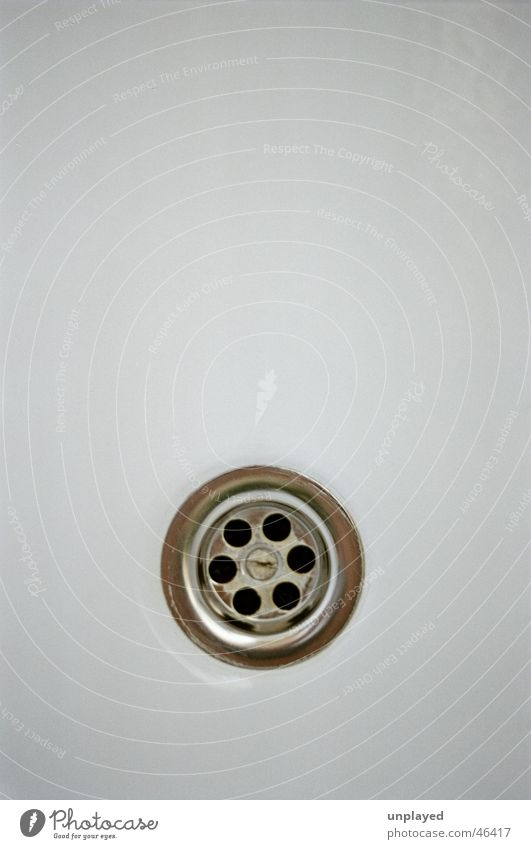 outflow Simple Macro (Extreme close-up) fall white clean shower bathroom sanitary flush ceramics drainpipe