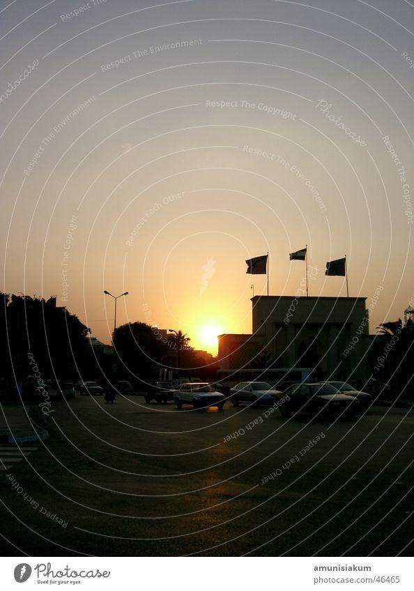 Sunset in Cairo Egypt Beautiful