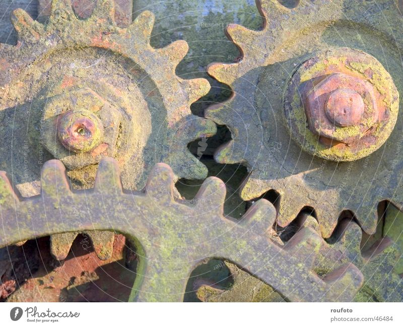 Old Industrial Photography Rust Machinery Tool Equipment Gearwheel Mechanics