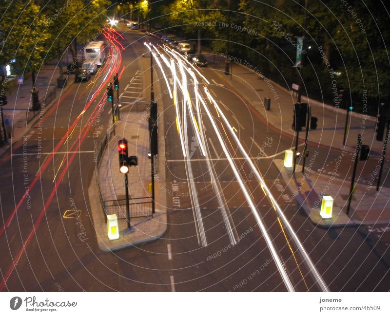Red Yellow Car Transport Bus Traffic light Mixture Street refuge