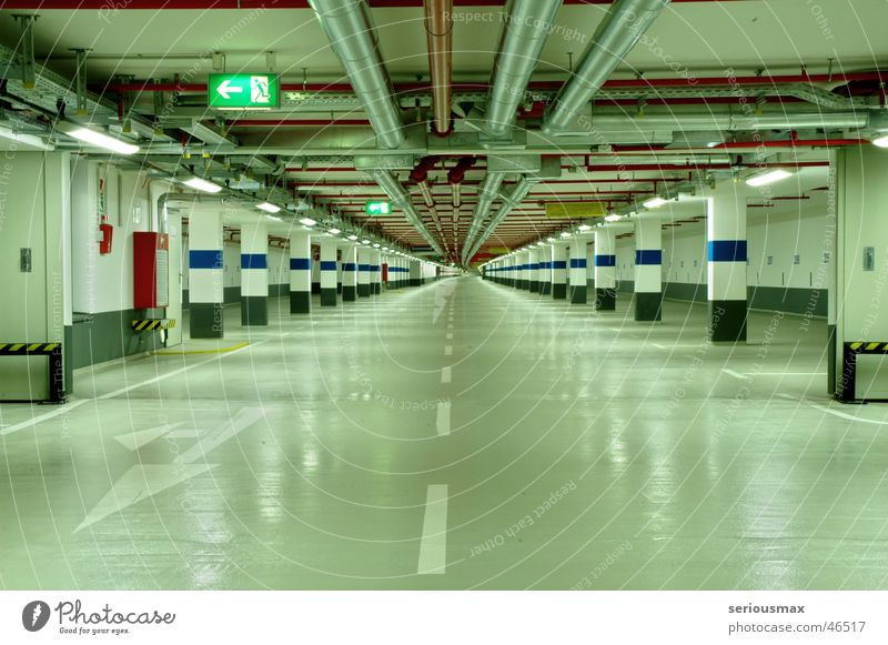 Green Germany Cologne Deep Garage North Rhine-Westphalia Underground garage Rheinau docks