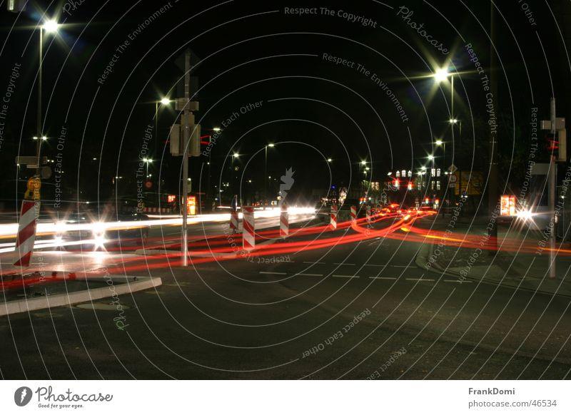 City Street Movement Transport Star (Symbol) Construction site Lantern Traffic light Mixture Floodlight Rear light Oldenburg