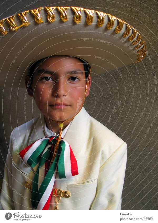 Viva! Mexican cowboy Child Mexico folk has kimako Feasts & Celebrations