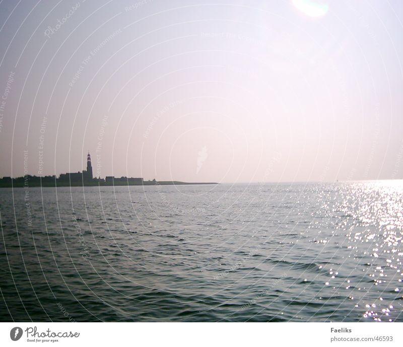 Sun Ocean Warmth Tower Physics Hindeloopen