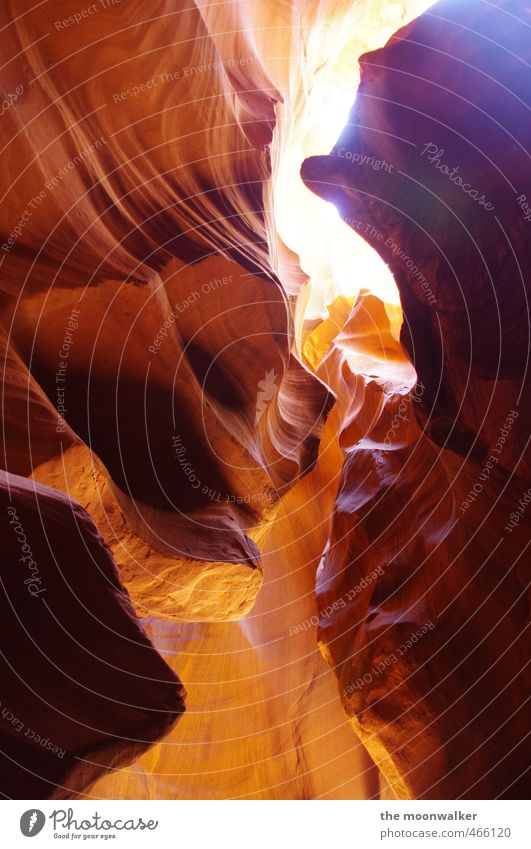 BEAM Earth Sand Antelope Canyon USA Arizona Deserted Exceptional Dark Soft Brown Yellow Gold Orange Warm-heartedness Adventure Bizarre Environment beam