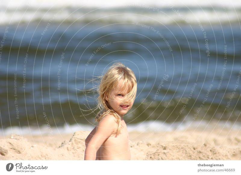 Child Sun Girl Beach Hair and hairstyles Blonde Maya
