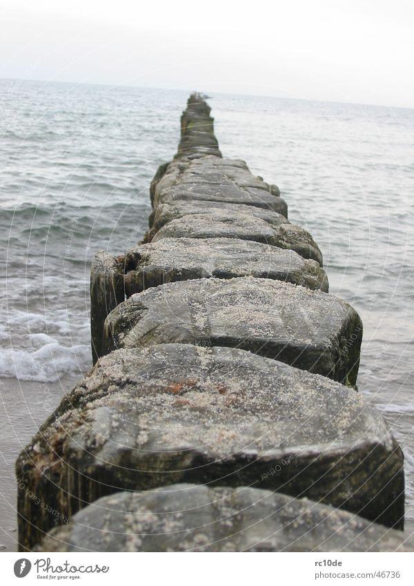 Water Ocean Beach Sand Waves Baltic Sea Foam Kühlungsborn