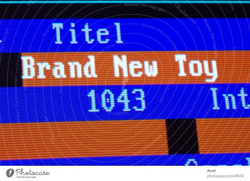 music titles Song Screenshot Data bank Electrical equipment Technology RCS selector Music