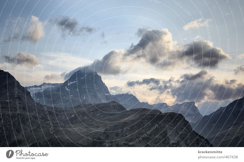 Sky Nature Blue Summer Landscape Clouds Environment Mountain Stone Rock Weather Climate Hiking Peak Alps Hill