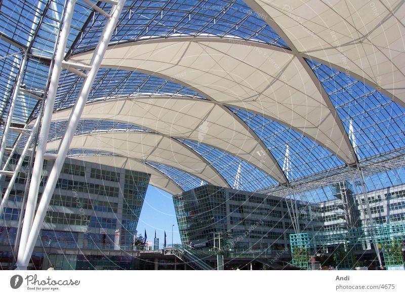 Sun Summer Architecture Roof Munich Airport