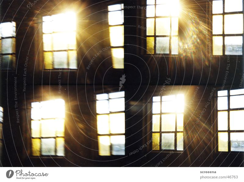 Sun Dark Window Building Warmth Bright Industrial Photography