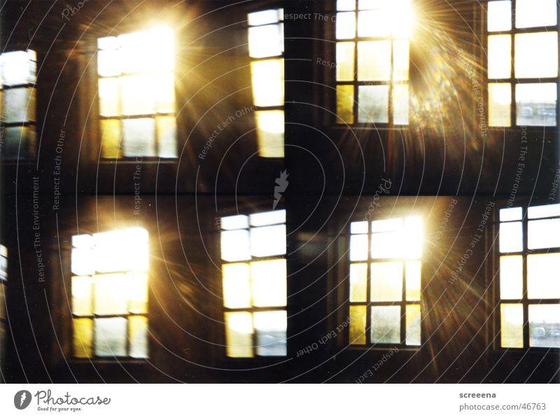 Sun Dark Window Building Warmth Bright Industrial Photography