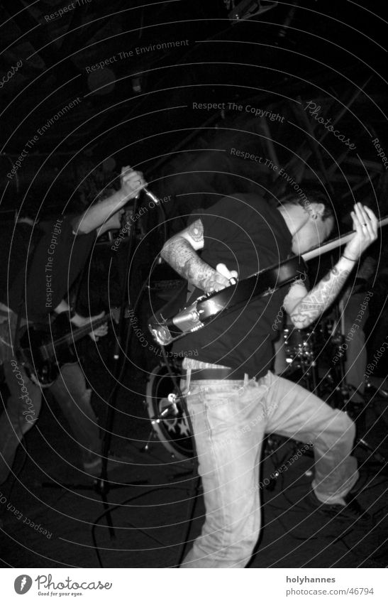 Music Action Shows Rock music Guitar Tattoo Hardcore Live