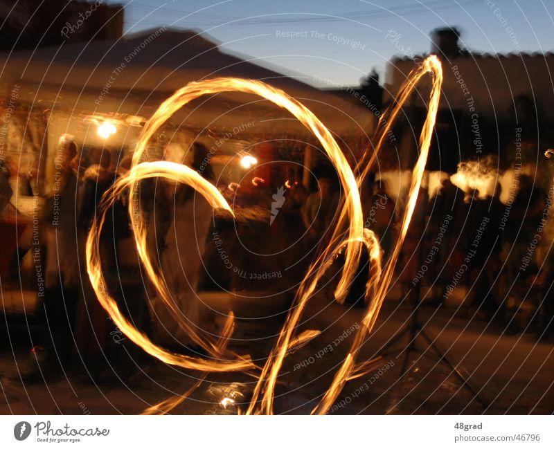 fire play Fire show Dusk Vacation mood Shows Event Blaze Evening evening show evening entertainment