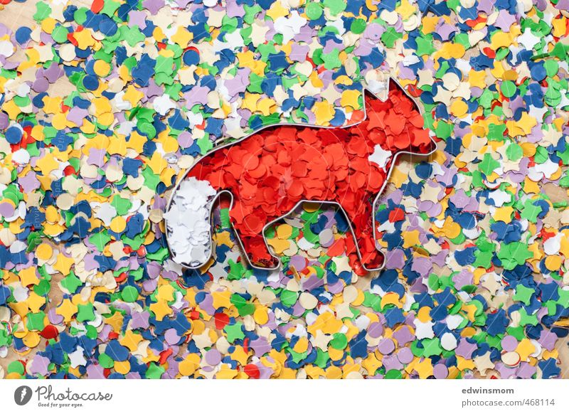 Creativity. Confetti. Ideas. Fox. Joy Leisure and hobbies Playing Handicraft Decoration Children's room Party Autumn Kitsch Odds and ends Discover Looking