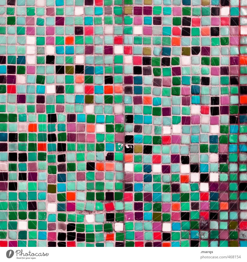 Beautiful Colour Wall (building) Wall (barrier) Style Line Art Background picture Elegant Lifestyle Design Arrangement Simple Uniqueness Many Tile