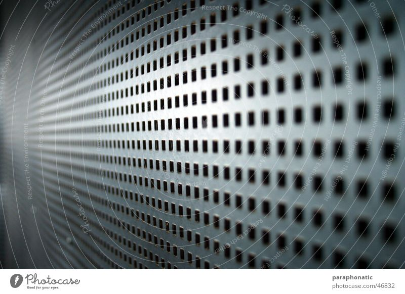 perforated cardboard sheet Plate with holes Gray Long Curved Cardboard Paper Stamped in Perforated Window Wall (building) Workshop Recording studio Calm
