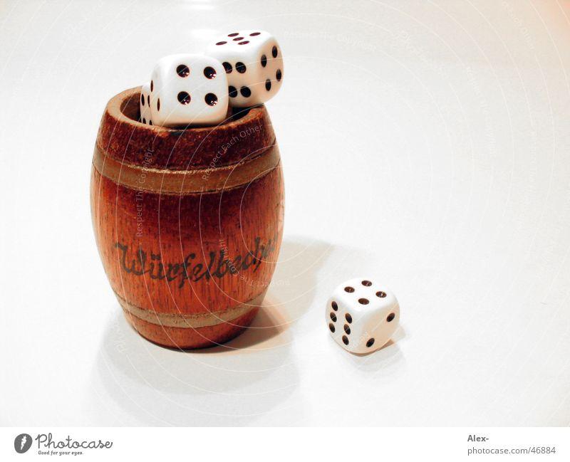 Dice cup II Mug Playing Wood Keg Joy