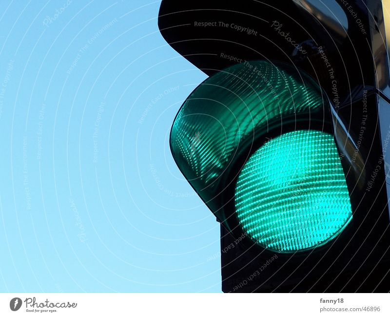 Green Going Transport Railroad Direction Traffic light Pedestrian Rule Intersection Allow