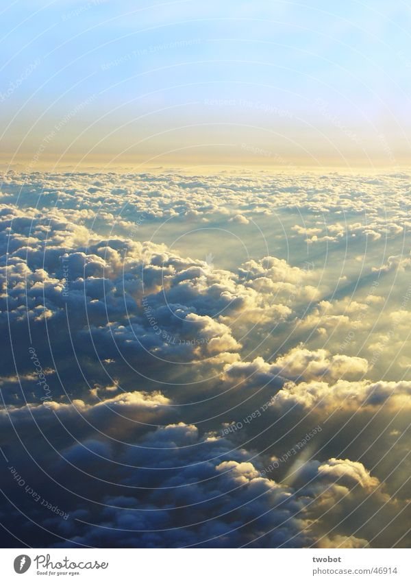 sky from above Sky Clouds Sun Lighting Force Airplane sunshine Light (Natural Phenomenon) beautiful view Aviation flight Freedom