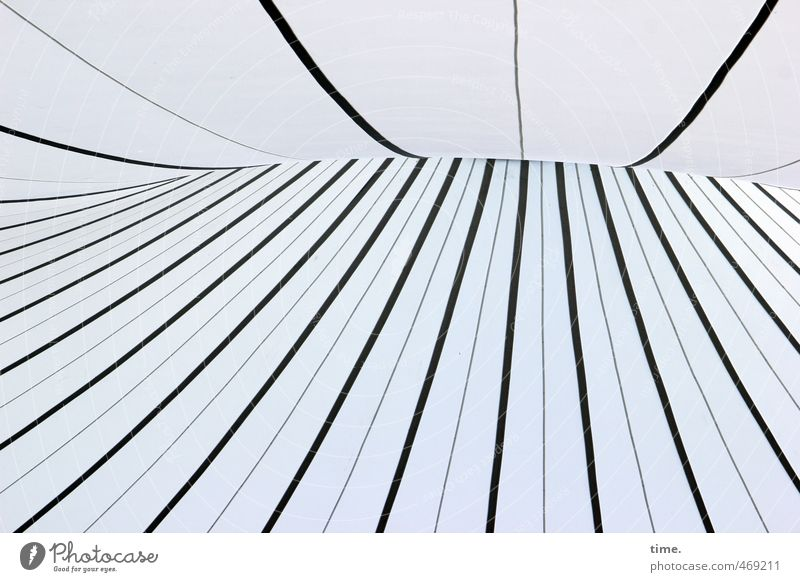 air number Technology High-tech Tent Tarpaulin Tent ceiling Roof Stitching Plastic Line Stripe Network Athletic Gigantic Tall Modern Stress Bizarre Uniqueness