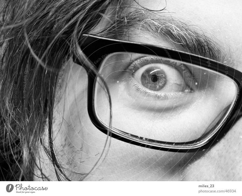 The eye Eyeglasses Eyes Face