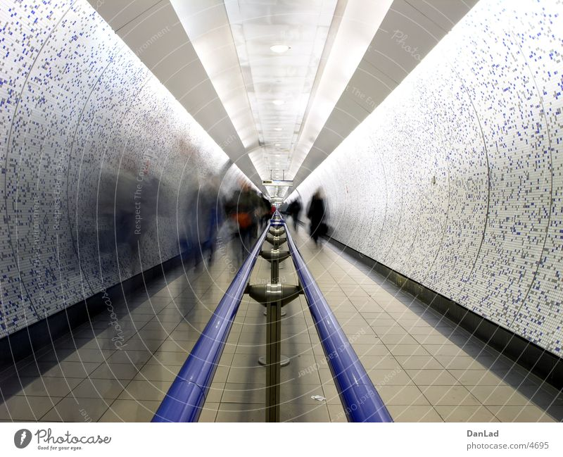 Going Transport Logistics Tunnel London Pedestrian London Underground Underpass Public transit