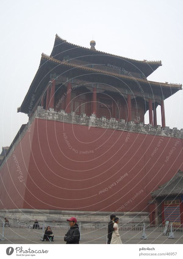 Forbidden City Forbidden city Temple Red China Tower